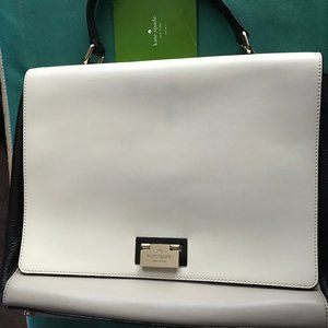 Kate Spade Women's Cream & Black Handbag